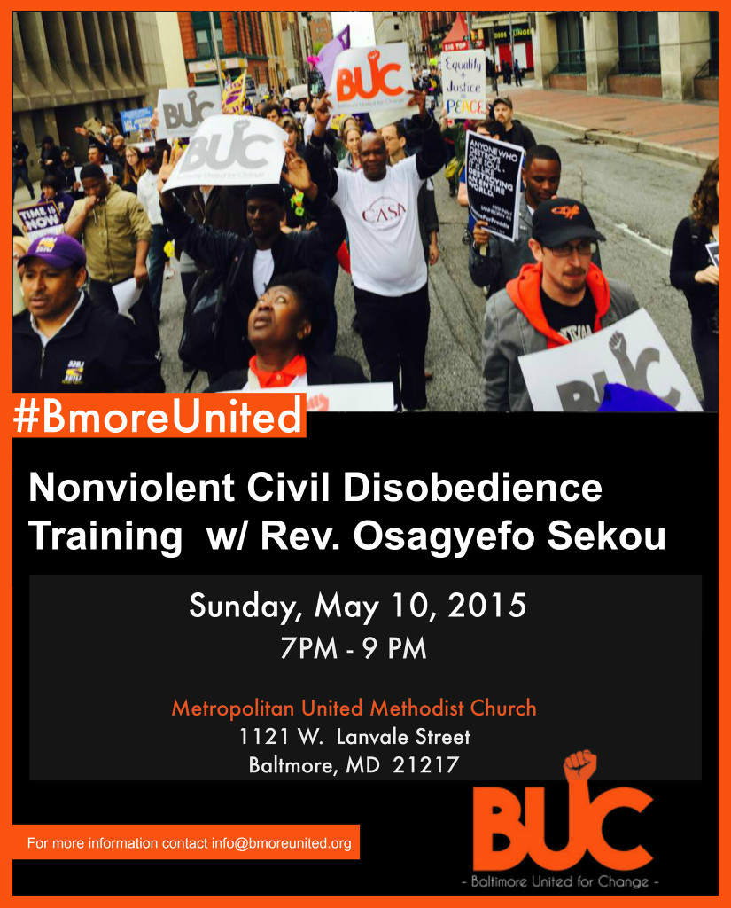 Civil Disobedience Training